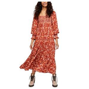 💖Free People Sweet Escape Boho Maxi Dress